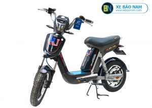 Xe đạp điện Nijia Avenger 2019 màu đen tem NJ
