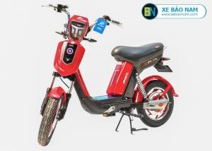 Xe đạp điện Nijia Avenger 2019 màu đỏ tem đen