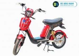 Xe đạp điện Nijia Avenger 2019 màu đỏ tem NJ