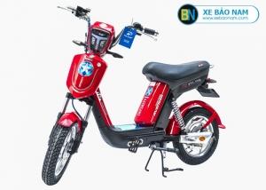 Xe đạp điện Nijia Avenger 2019 màu đỏ tem sao