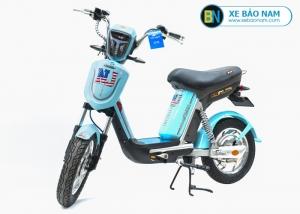 Xe đạp điện Nijia Avenger 2019 màu xanh ngọc tem NJ