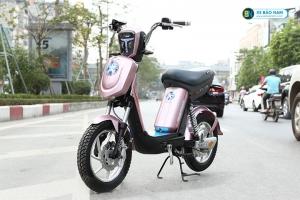 xe đạp điện Nijia Avenger 2019 màu hồng