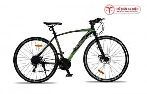 Xe đạp thể thao Fornix FR303 Mới nhất màu đen xanh lá cây