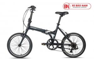 Xe đạp gấp Expressway 2 màu đen