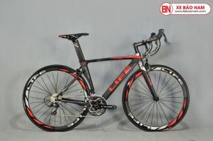 Xe đạp đua Life Super 588s màu đen đỏ