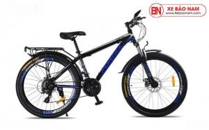 Xe đạp thể thao Fornix FM26 Mới nhất màu đen xanh dương