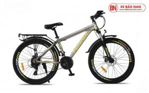 Xe đạp thể thao Fornix FM26 Mới nhất màu xám vàng