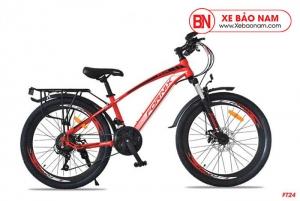 Xe đạp thể thao Fornix FT24 Mới nhất màu đỏ