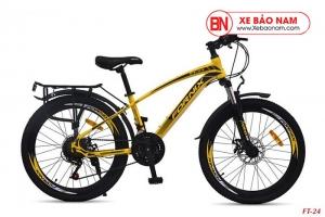 Xe đạp thể thao Fornix FT24 Mới nhất màu vàng
