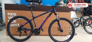 Xe đạp VinaBike V168 màu xanh cam