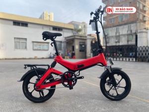 Xe điện gấp Nakxus 8 inch Mới nhất màu đỏ
