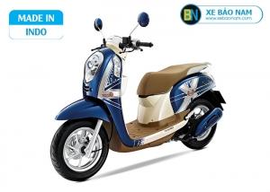 Xe scoopy Indo 110cc màu xanh dương