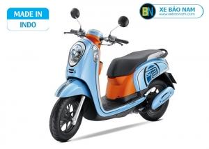 Xe scoopy Indo 110cc màu xanh ngọc
