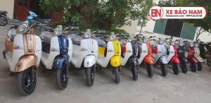 Xe ga 50cc Crea New 2020 màu xám