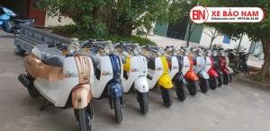 Xe ga 50cc Crea New 2020 màu vàng kem