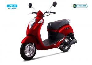 Xe ga 50cc Elite chính hãng Sym - Màu Đỏ mờ