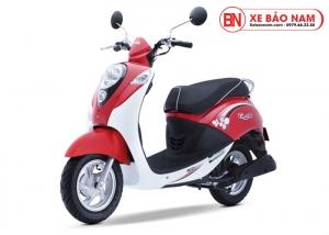Xe ga 50cc Elite chính hãng Sym đỏ trắng ( hết hàng )