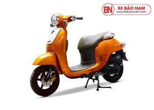 Xe ga 50cc Mono phanh đĩa màu vàng