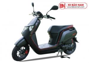 Xe ga 50cc Honda Dunk 2020 Nhật Bản Nhập Khẩu màu đen viền đỏ