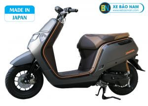 Xe ga 50cc Honda Dunk 2020 Nhật Bản Nhập Khẩu màu xám viền vàng