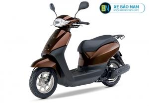Xe ga 50cc Honda Tact Nhập Khẩu màu nâu