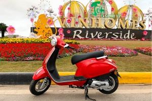 Xe Ga 50cc Nioshima 2020 màu Đỏ