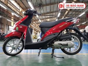 Xe ga 50cc Passing chính hãng SYM Mới nhất màu Đỏ