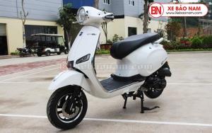 Xe Ga 50cc Roma SX màu trắng