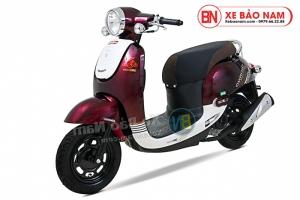 Xe ga 50cc Giorno 2 (Tem chìm) 2019 màu đỏ đun