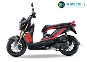 Xe ga Honda Zoomer X 110cc màu đen viền đỏ