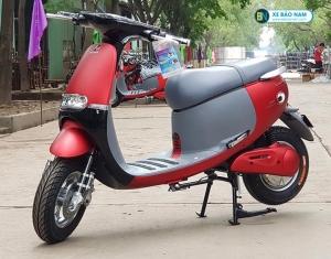 Xe máy điện Gogolo Espero màu đỏ