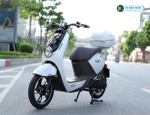 Xe đạp điện Honda M8 màu trắng