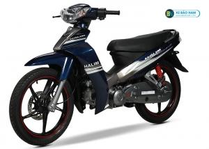 Xe máy 50cc Sirius Halim màu xanh