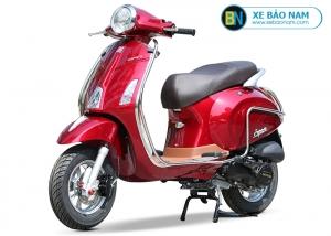 Xe ga 50cc Vespa Espero Detech màu đỏ