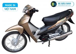Xe máy Wave 50cc detech màu vàng kem