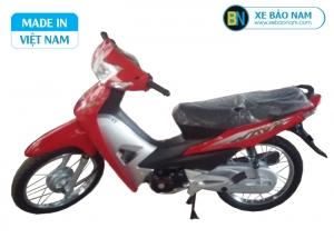 Xe máy Wave 50cc detech màu đỏ
