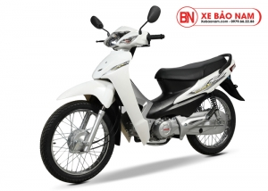 Xe máy Wave 50cc Halim màu trắng