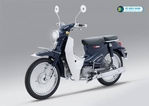 Xe máy Cub Classic 110cc Thailan Đen Nhám ( Có Săm)