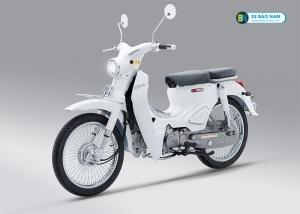 Xe máy Cub Classic 110cc Thailan Trắng ( Có Săm)