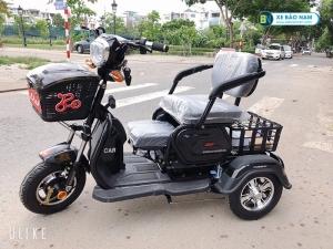 Xe điện 3 bánh Lixi màu đen