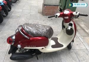 Xe ga 50cc Giorno nhập khẩu Màu Đỏ mận