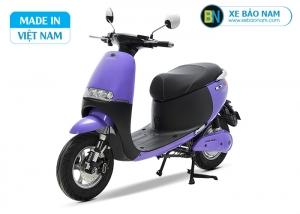 Xe máy điện Gogo osakar màu tím