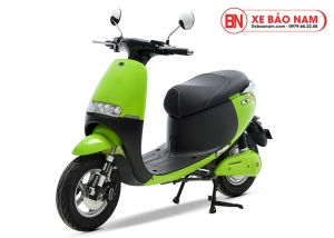 Xe máy điện Gogo osakar màu xanh lá cây