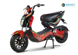 Xe đạp điện X-men JVC Eco màu đỏ