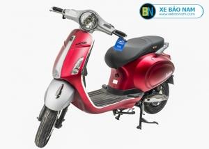 Xe máy điện nijia Venus Smartkey màu đỏ trắng
