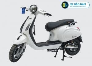 Xe máy điện nijia Venus Smartkey màu trắng