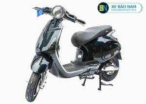 Xe máy điện nijia Venus Smartkey màu xanh cửu long