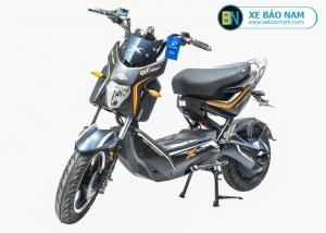 Xe máy điện Nijia xmen GT 2018 màu xanh cửu long