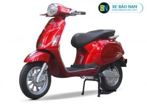 Xe máy điện Vespa Lima 2019 màu đỏ 2 phanh đĩa