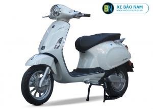 Xe máy điện Vespa Lima 2019 màu trắng 2 phanh đĩa